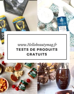 Tests de produits gratuits