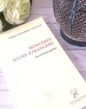 Autobiographie Mémoires d'une étrangère