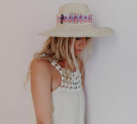 chapeau de paile chic et bohème