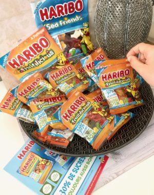 bonbons moins sucrés Haribo