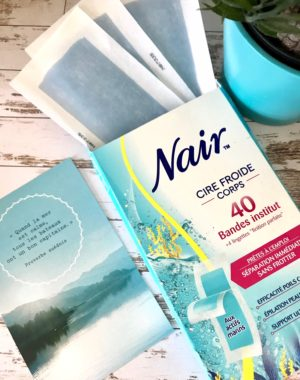 Nair cire froide corps