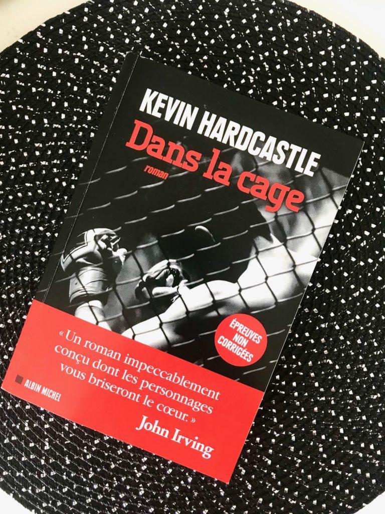 Dans la cage Kevin Hardcastle Albin Michel roman