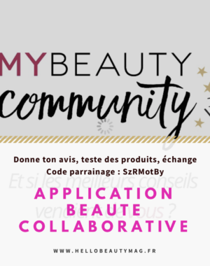 My beauty community application beauté