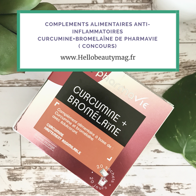 Curcumine anti-inflammatoire de Pharmavie