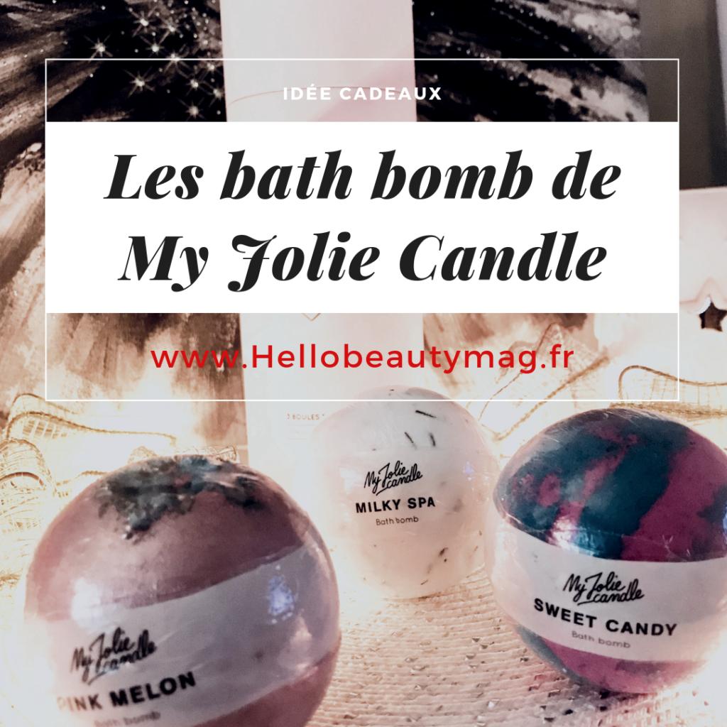 Bombes de bain bijou My Jolie Candle