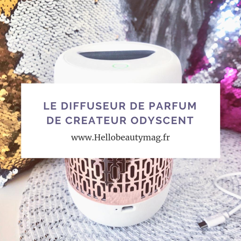 diffuseur de parfum de créateur Odyscent