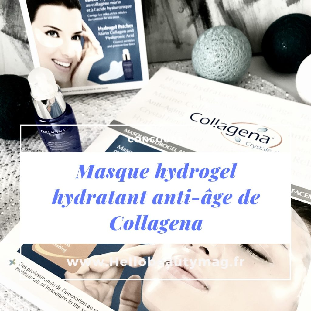 masque hydrogel anti-rides Collagena