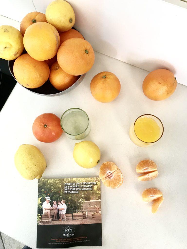 consommer mieux et sain avec les agrumes Famille serra