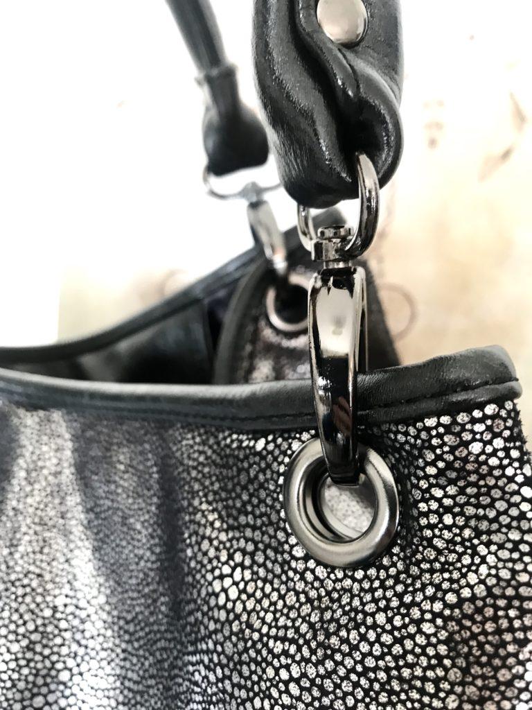 sac à main silver gris argent Les Lolitas