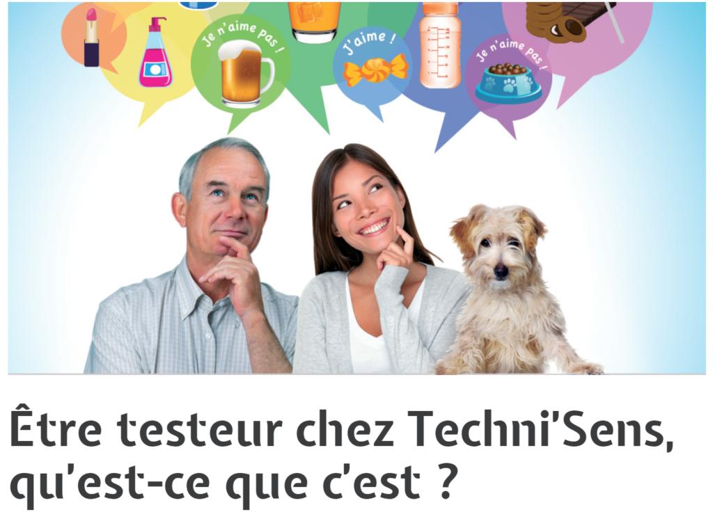 testeur de produits technisens