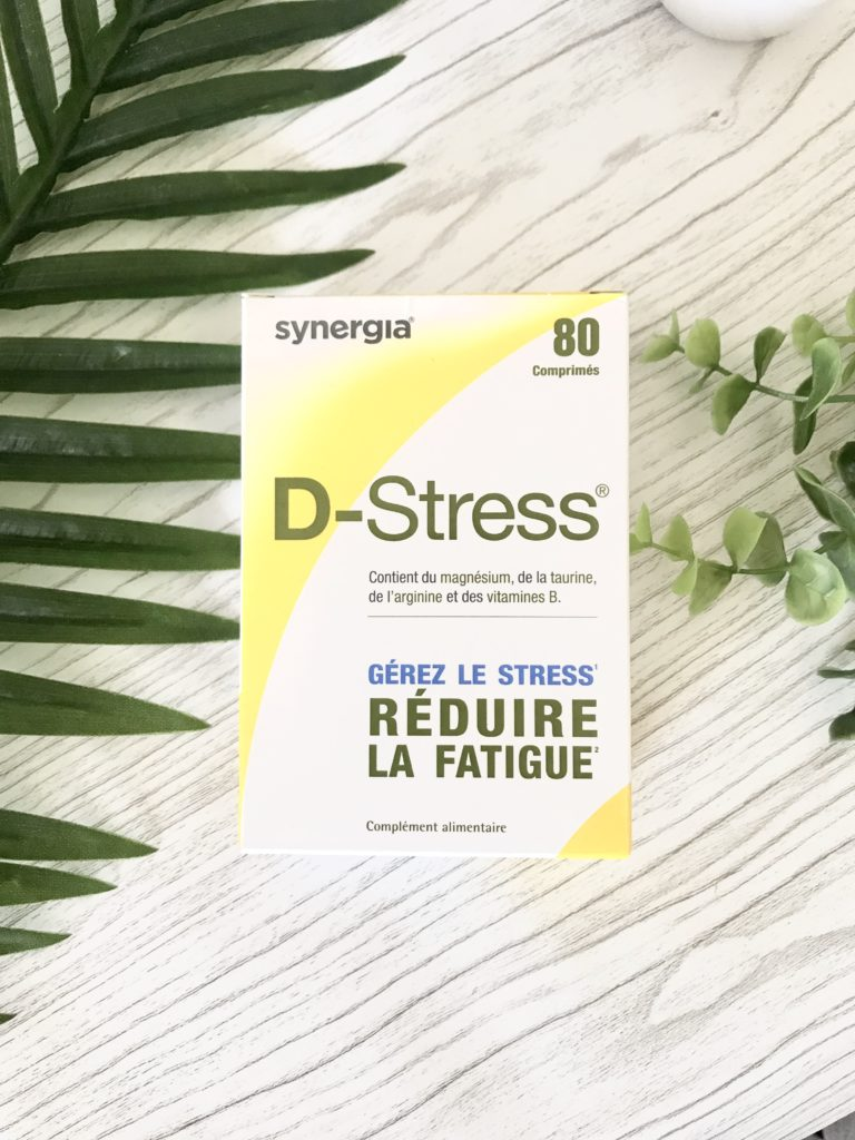 Dstress complément alimentaire anti-stress Laboratoire Synergia