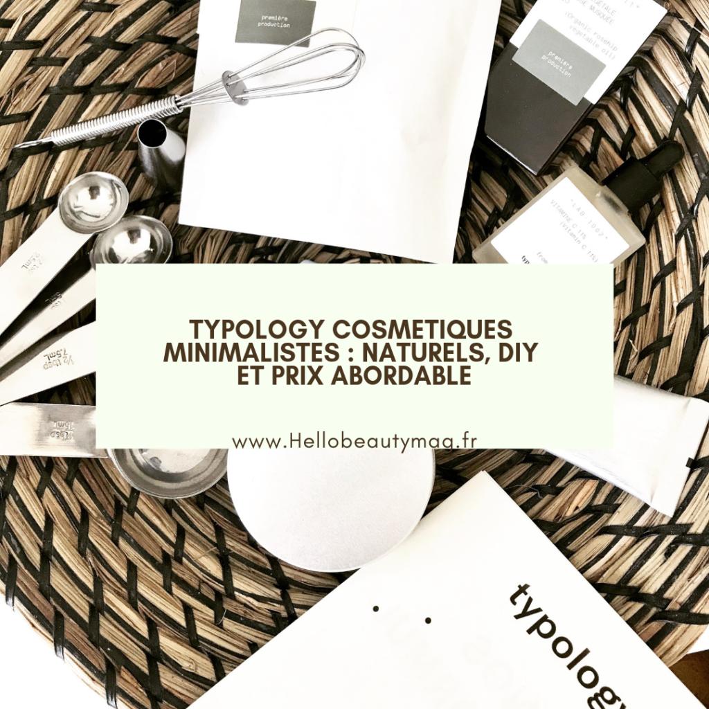 Typology cosmetics