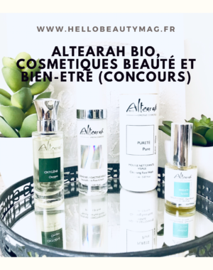 Alearah bio cosmétiques bio et bien-être