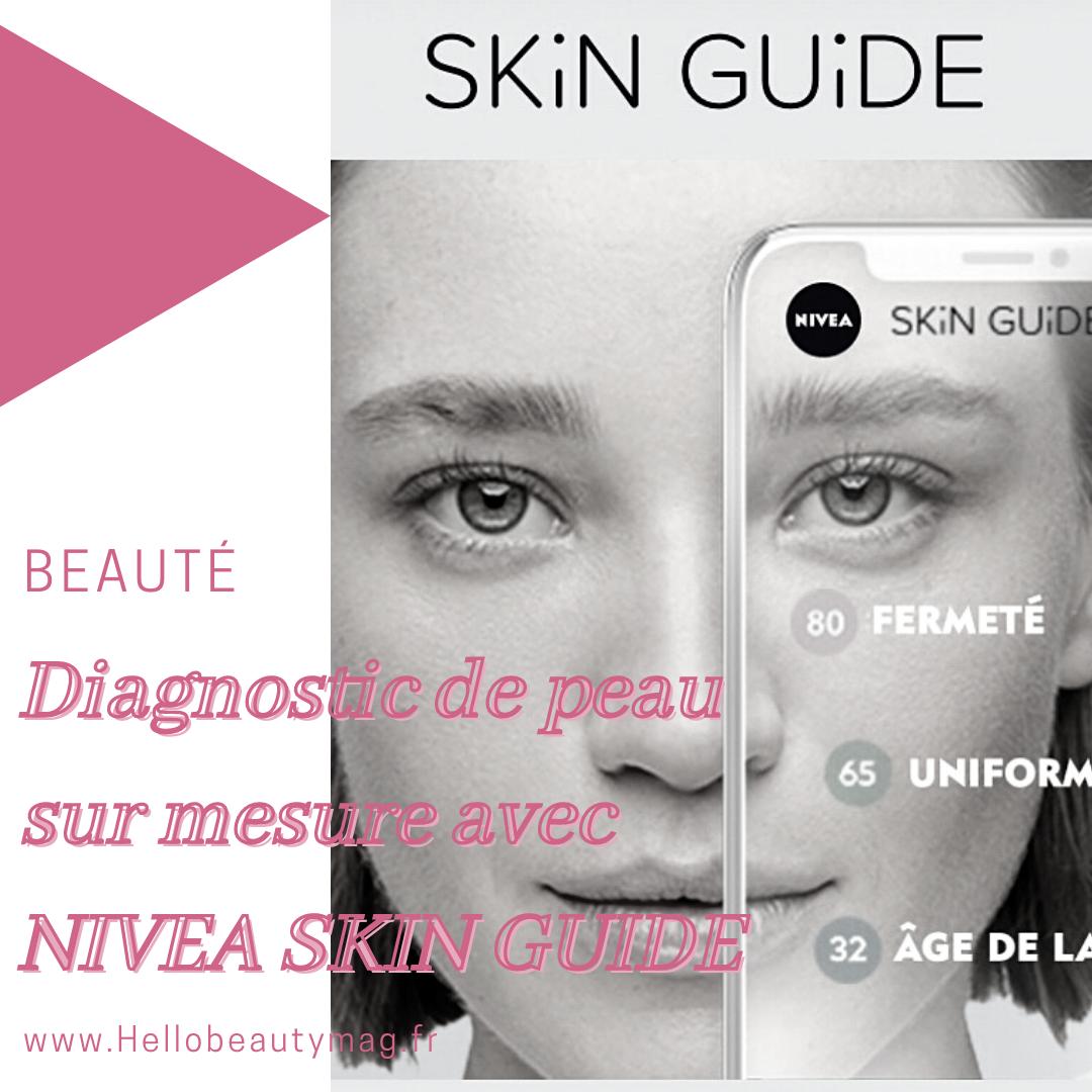 Diagnostic de peau sur mesure avec NIVEA SKIN GUIDE